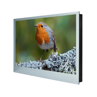 """ProofVision 43"""" Premium Widescreen Waterproof Bathroom & Shower TV PV43MF  Smart TV option available. The 43"""" Premium Bathroom TV has a 2 x 10w built-in amplifier and is available in a mirror or black finish. FULL HD 43INCH LG LED PANEL IP65 RATED BUILT-I"""