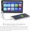 Οθόνη αφής αυτοκινήτου με Ελληνικό μενού με κάμερα οπισθοποριας . Ακούστε την αγαπημένη σας μουσική και δείτε βίντεο και ταινίες από το USB στικάκι σας, την microSD κάρτα μνήμης ή κατευθείαν από το κινητό σας μέσω Bluetooth. Υποστηρίζει όλα τα αρχεία ήχου