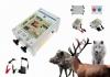 Ηλεκτρικοι φράχτες με σύρμα  προστασίας από άγρια ζώα αγριογούρουνο αρκούδες λύκους αλεπούδες  σε καλαμπόκι αμπέλια δένδρα κοπάδια μαντριά κτλ --Με μπαταρία 80ah η με ρεύμα 220v