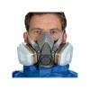 3M™ Επαναχρησιμοποιούμενη Μάσκα 6200 είναι οικονομική, με χαμηλές απαιτήσεις συντήρησης, εύχρηστη και πολύ ελαφριά.  Μαλακή, υποαλλεργική, ελαστομερής μάσκα Εξαιρετικά ελαφριά μάσκα μισού προσώπου με σχεδίαση χαμηλής συντήρησης, για μέγιστη άνεση και απλό