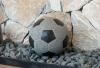 Μπαλα ποδοσφαίρου γρανίτης μάρμαρο ΠΕΡΙΓΡΑΦΗ Υλικό: Γρανίτης Διάμετρος: 25cm  Χρήσεις: Χρησιμοποιείται σε μπαλκόνια, σε αυλές, κήπους και γενικά σε εξωτερικούς και εσωτερικούς χώρους