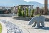 Αρκουδα 90cm μήκος. ΠΕΡΙΓΡΑΦΗ Υλικό: Γρανίτης γκρι Διαστάσεις: 90x30x55cm  Κάποια μικρή απόκλιση στις διαστάσεις είναι πιθανή λόγω ιδιαιτερότητας του υλικού.  Χρήσεις: Χρησιμοποιείται σε μπαλκόνια, σε αυλές, κήπους και γενικά στον περιβάλλοντα χώρο