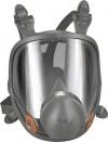 3M 6800 Μάσκα ολόκληρου προσώπου  Χαρακτηριστικά:  -Μάσκα Ολοκλήρου Προσώπου: Μαλακή, υποαλλεργική, ελαστομερής μάσκα  -Εξαιρετικά ελαφρύ 400 γραμμάρια για υψηλή άνεση  -Φακοί Ολοκλήρου Προσώπου: Ευρύτερο οπτικό πεδίο  -Πολυκαρβονικοί φακοί, αντοχή σε γδά